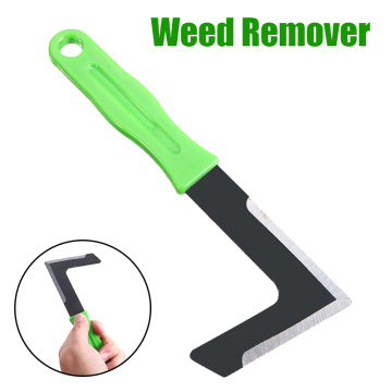 Garden Weed Remover Sickle Yard Lawn Weed Cutter Tool Orchard Patio Weeding Moss Paving Groove Remover Garden Hand Tool