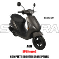 AGM SP50 SCOOTER BODY KIT ENGINE PARTS COMPLETE SCOOTER SPARE PARTS ORIGINAL SPARE PARTS