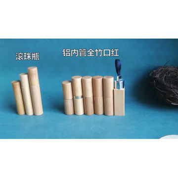 Wholesales cheap New design 5g luxury delicate environmental bamboo lipstick tube