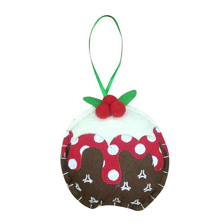 Christmas Pudding Hanging Pendant Decorations