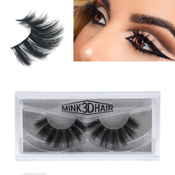 3D Faux Mink Eyelashes Natural Long Silk Soft Fake Eyelashes False Mink Lashes