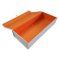 Bespoke Orange Collapsible Magnetic Gift Box