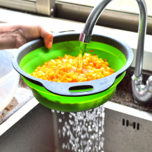 collapsible colanders kitchen folding strainer colander