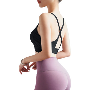 Women workout cross yoga bra
