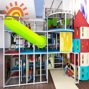 Indoor Large Play Structures Equipment for Kids