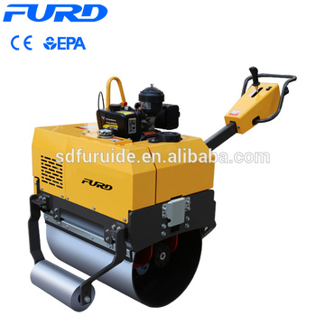 Single Drum Mini Road Roller Compactor with CVT Single Drum Mini Road Roller Compactor with CVT  FYL-750
