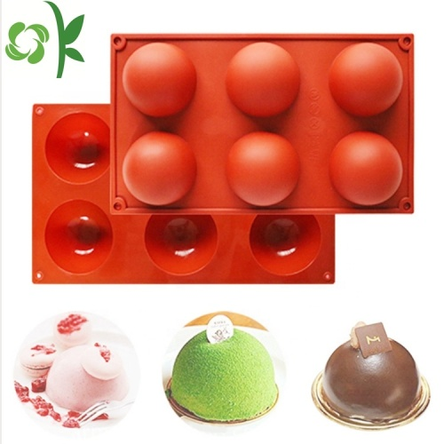 Silicone Large Semi Sphere Cake Mold