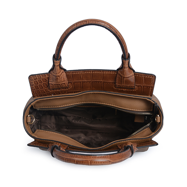luxury patent new fashion leather handbag