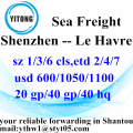 Shenzhen International Logistics to Le Havre