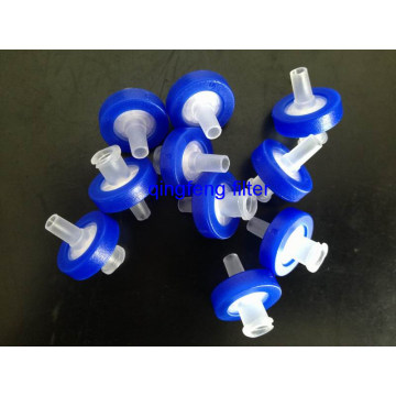 0.22um  Pes Syringe Filter for Biological Filtration