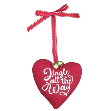 "Christmas tree ornaments with ""jingle all the way"""