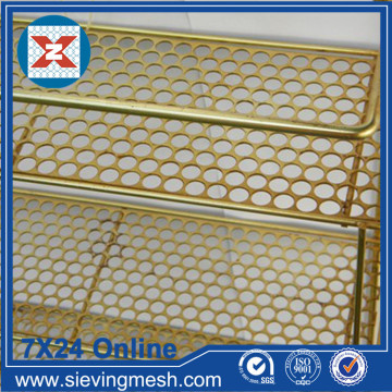 Brass Perforated Metal Mesh
