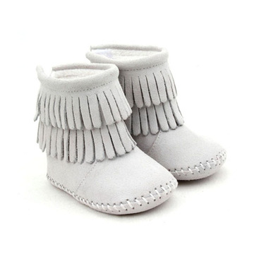 Baby Moccasin Winter Baby Boots Kids Shoes