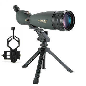 Visionking 30-90x90 Zoom Spotting Scope High Power Monocular Telescope For Hunting Golf Shooting With Phone Camera Adapter