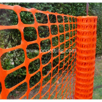 PE Safety Orange Warning Net