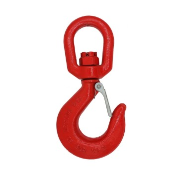 G80 SWIVEL HOOKS WITH SAFETY LATCH