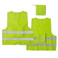 Safety vest with back pocket