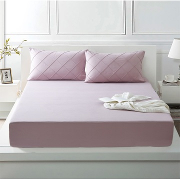Fitted Bed Cover Stays Cool mattress protector