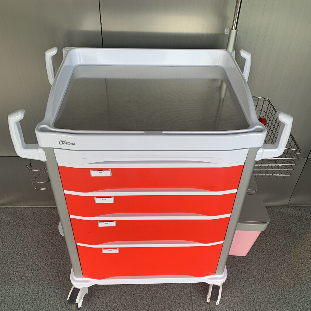 Hospital Emergency Trolley Equipment