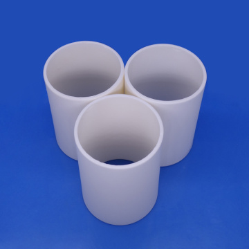 Customized Large Size Al2O3 Ceramic Hollow Tube