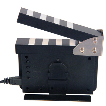 The Big Movie Clapper Alarm Clock Clock