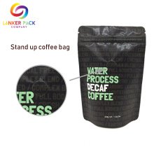 Custom Laminate Plastic Stand Up Pouch With Vitop