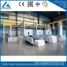 highly stable ALKS-1300 cotton fiber opening machine machine width 1.3m Paper felt