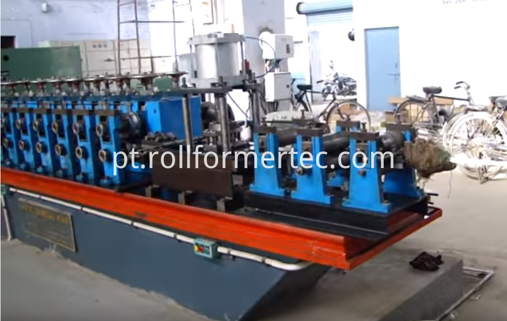 bicycle axle forming machine