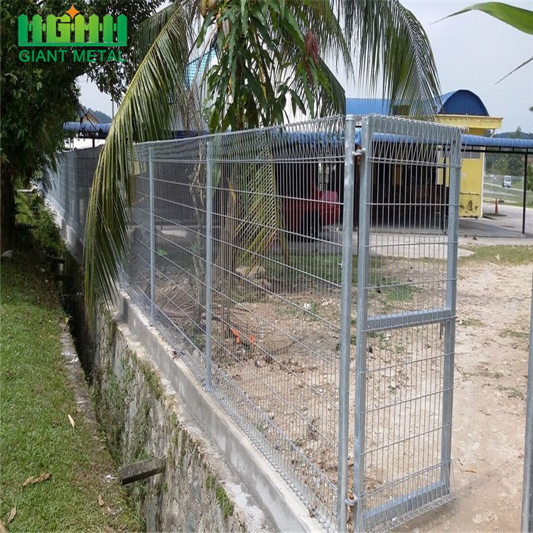 Security Rolltop Panel BRC Fence