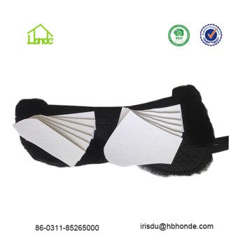 Customized Fur Lambskin Saddle Pads For Horses