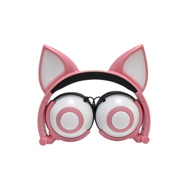 New Arrival Fox Earphone Headphone dengan Colorful LED