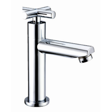 Bathroom mixer tap cold water only knob handle