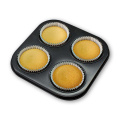4 Compartment Non-Stick Tartlet & Quiche Pans