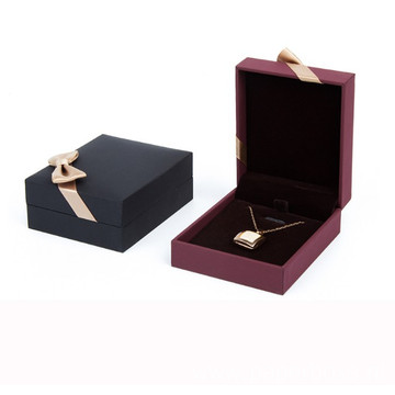 Custom Luxury Cardboard Ring Necklace Jewelry Paper Box