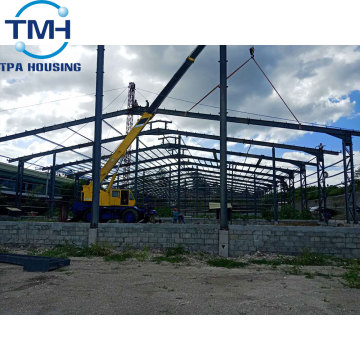workshop recyclable warehouse frame truss steel structure