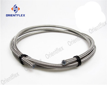 wire braided corrugated teflon hose