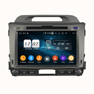 Sportage System Amlgyfrwng Android 2012