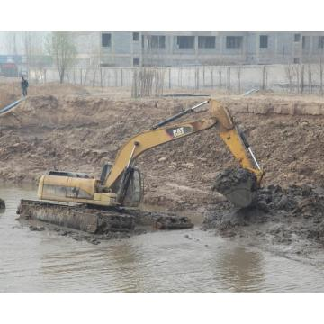 Silt Cleaning Amphibious Excavator