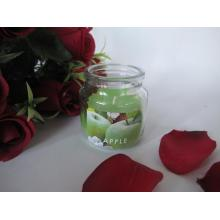 Apple Scented Glass Candles in Bulk