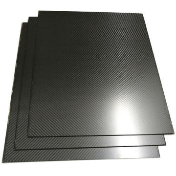 0.5mm 400 x 500 mm twill weave carbon fiber laminate sheet