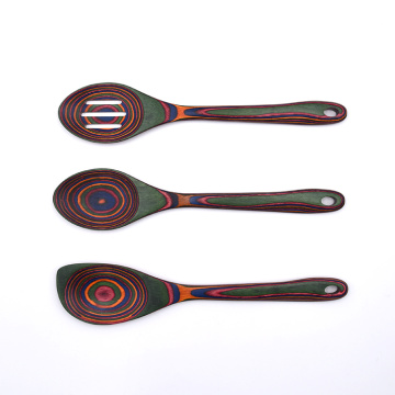 3 PCS Pakka Wood Spoon Sets