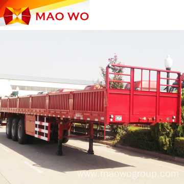 Brand New 4 Axle 80ton Sidewall Truck Trailer