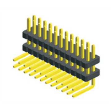 1.27mm Pitch Dual Row  Double Plastic