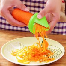 Kitchen Tools Accessories Gadget Funnel Model Spiral Slicer Vegetable Shred Device Cooking Salad Carrot Radish Cutter Hot Sale