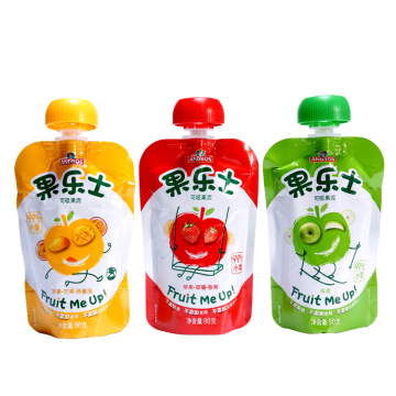 Baby Spout Plastic Bag Fruit Juice Packaging