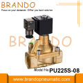 Shako Type Steam Brass Solenoid Valve PU225S-06 PU225S-08