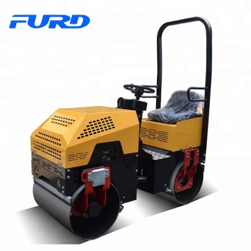 Honda engine 13hp smooth drum 1 ton bomag road roller (FYL-880)