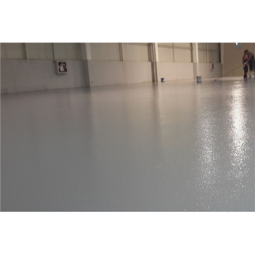 Orange peel epoxy floor paint