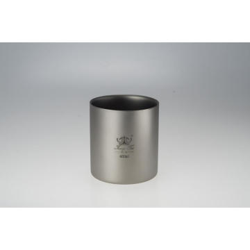 Pure Titanium Double-Wall Cup