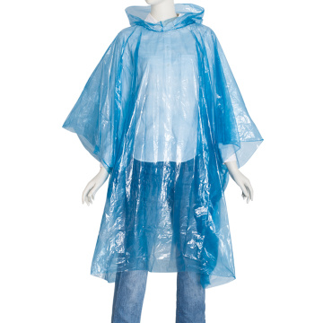 Disposable Rain Ponchos for Adults Assorted Colors travel emergency